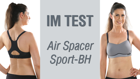 Comazo Air Spacer im Sport-BH Test