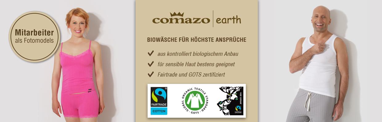 Fairtrade Biowäsche für bewusste Konsumenten