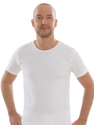 Comazo Unterwäsche, Kurzarm Shirt in weiss - Vorderansicht