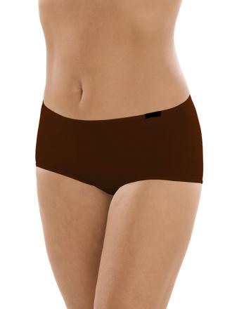 Comazo Unterwäsche, Hot-Pants für Damen in mokka - Vorderansicht