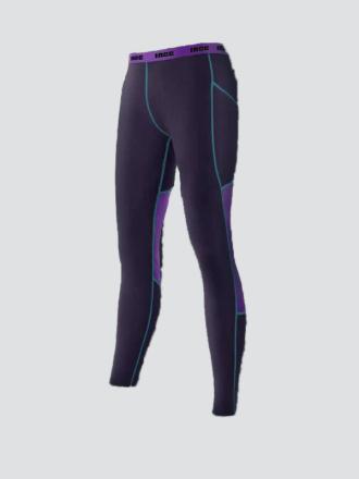 Comazo Funktionswäsche lange Hose für Damen in lila