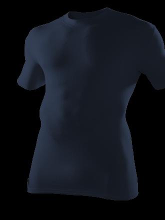 Funktionsshirt marine kurzarm