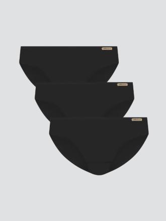 Fairtrade Jazz-Pants 3er Pack (Schwarz)