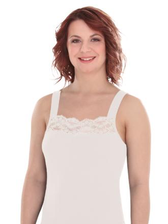 Comazo Lieblingswäsche, Unterhemd für Damen in champagner