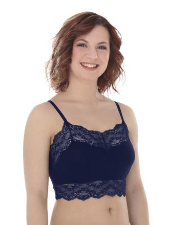 Comazo Lieblingswäsche, Bustier für Damen in nachtblau
