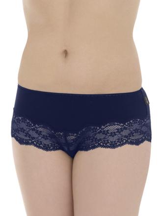 Comazo Lieblingswäsche, Panty für Damen in nachtblau