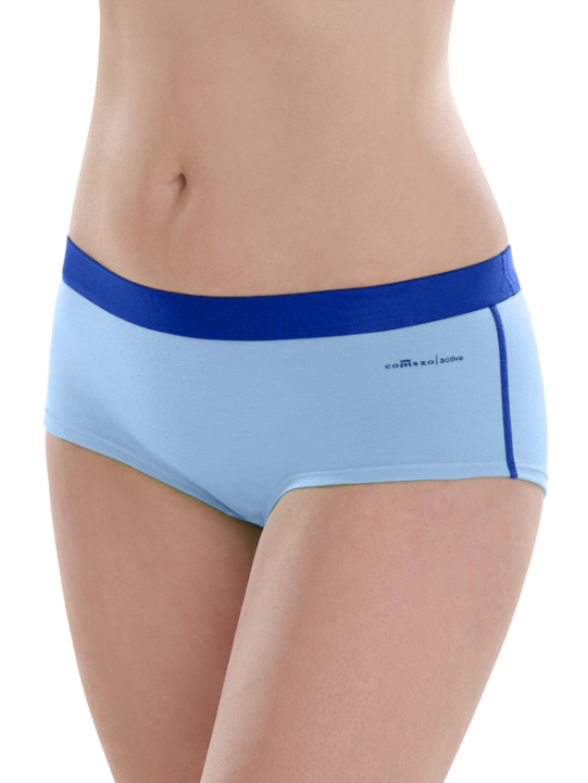 Comazo active, Panty für Damen in jeans blue