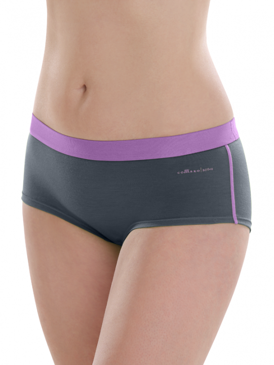 Comazo active, Panty für Damen in dark grey