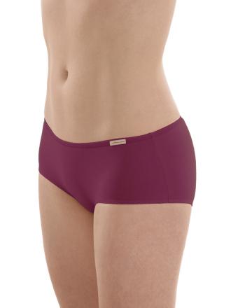 Comazo Biowäsche, Panty für Damen in brombeer - Vorderansicht