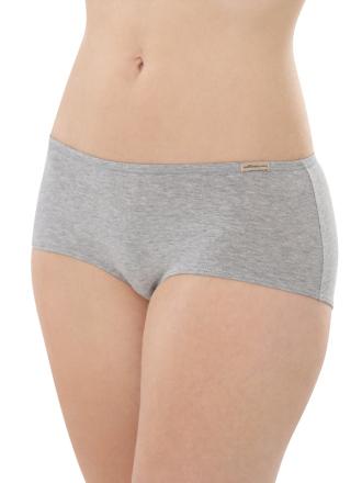 Comazo Biowäsche, Panty für Damen in grau-melange - Vorderansicht