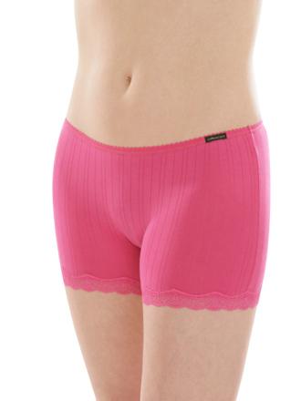Comazo Biowäsche, Panty für Damen in pink- Vorderansicht