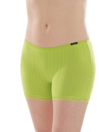 Comazo Biowäsche, Panty für Damen in limone - Vorderansicht