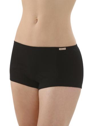 Comazo Biowäsche, Panty für Damen in schwarz