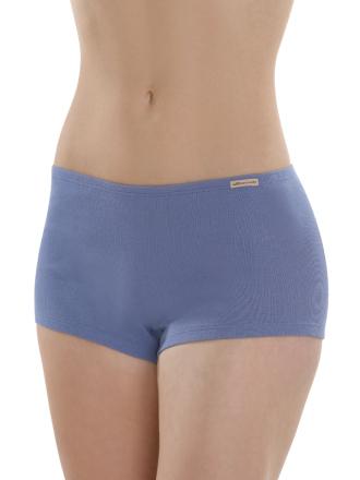 Comazo Biowäsche, Panty für Damen in jeansblau