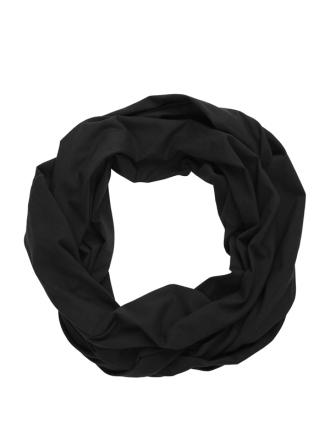 Comazo Biowäsche, Schal für Damen in schwarz - Vorderansicht