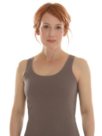 Comazo Biowäsche Unterhemd für Damen in earth