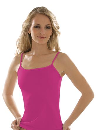 Comazo earth Damen Achsel-Unterhemd aus Bio Baumwolle 1132764 Gr 36-48 in Grau