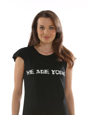 Comazo Lieblingswäsche, Shirt für Damen in schwarz (135) - Vorderansicht