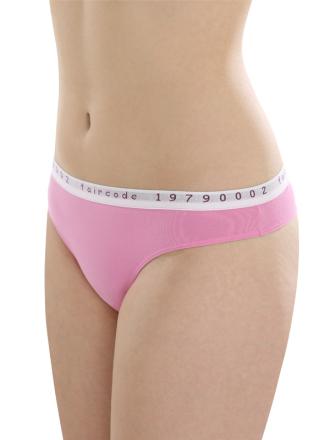 Comazo Biowäsche String low cut für Damen in pink - Vorderansicht