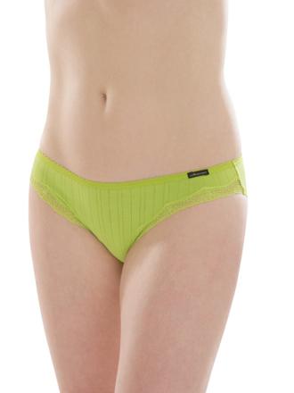 Comazo Biowäsche, Jazz-Pants für Damen in limone- Vorderansicht