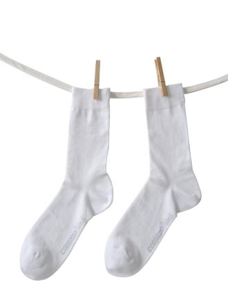 Comazo Socken, Socken für Damen weiss - Vorderansicht