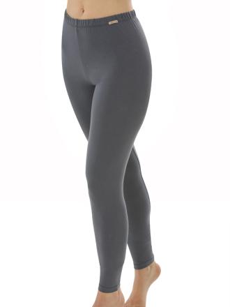 Comazo Biowäsche, Leggings für Damen in anthrazit - Vorderansicht