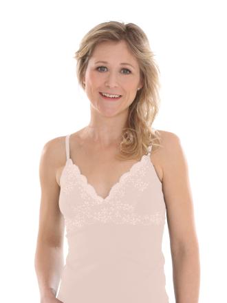 Comazo Biowäsche, BH-Hemd für Damen in Make-Up