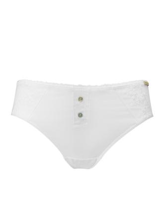 Comazo Biowäsche, Jazz Pants für Damen in weiss - Vorderansicht
