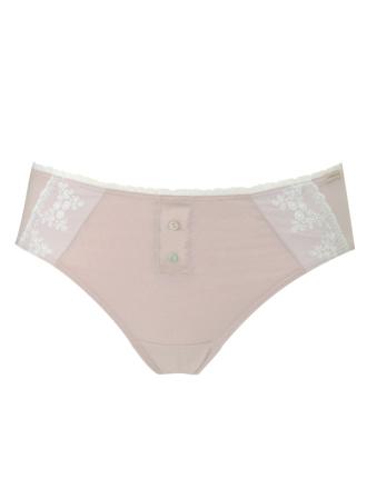 Comazo Biowäsche, Jazz Pants für Damen in rosenholz - Vorderansicht