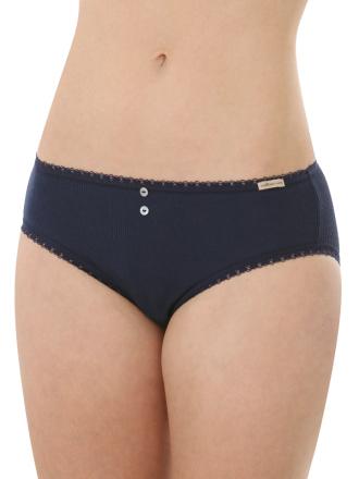 Comazo Biowäsche, Jazz-Pants für Damen in marine - Vorderansicht