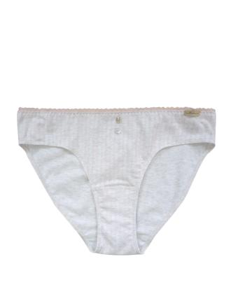 Comazo Lieblingswäsche Damen Jazz-Pants Slip in perle gestreift
