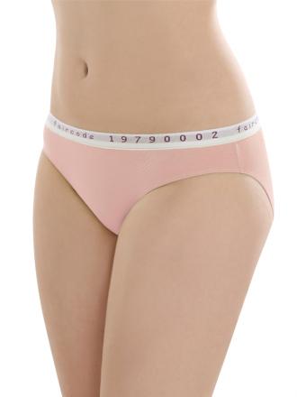 Comazo Biowäsche, Mini-Slip für Damen in peach - Vorderansicht