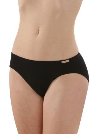 Comazo Biowäsche, Mini-Slip für Damen in schwarz