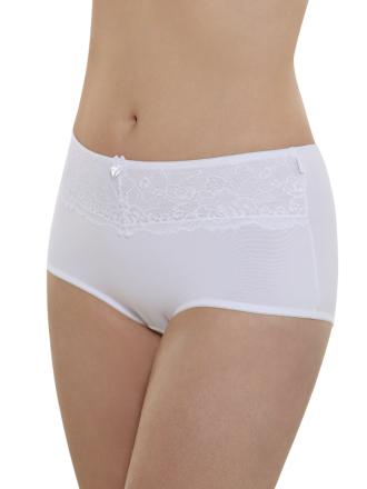 Comazo Unterwäsche, Maxi-Slip für Damen in weiss- Vorderansicht