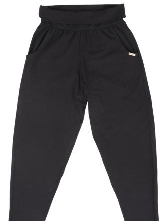 Comazo Biowäsche Damen Hose lang in schwarz