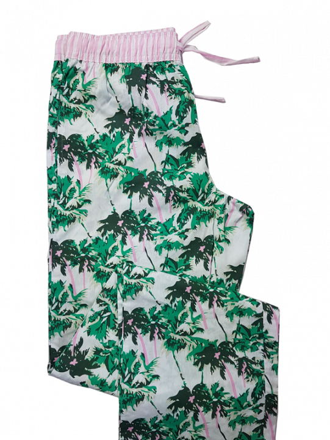 Damen Nachtwäsche lange Hose in hawaii