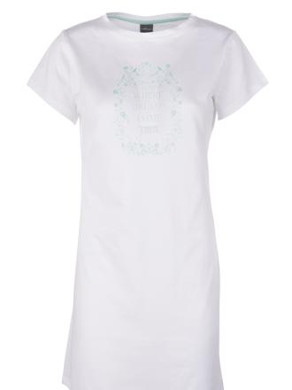 Comazo Lieblingswäsche Damen Sleepshirt in weiss
