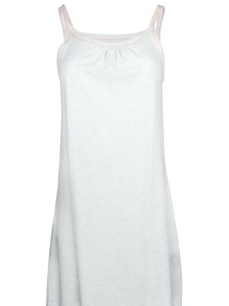 Comazo Lieblingswäsche Damen Nachthemd ohne Arm in ecru-melange