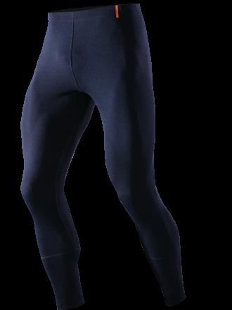 Schwerentflammbare Unterhose lang, marine, Vorderseite