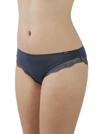 Comazo Lieblingswäsche Damen Mini-Slip in rauchblau