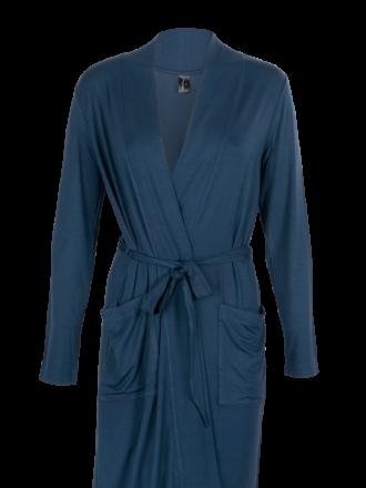 Comazo Unterwäsche Damen Lounge Jacken in blackblue