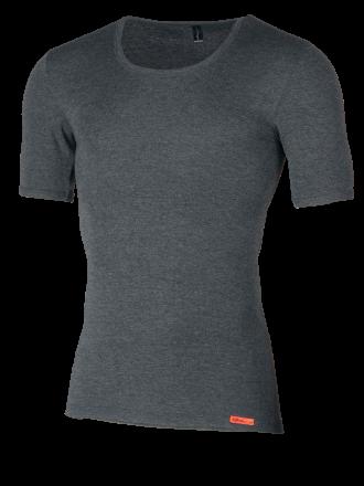 Shirt 1/4 Arm grau Vorderseite