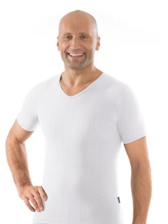 Comazo Unterwäsche, Shirt kurzarm in weiss - Vorderansicht