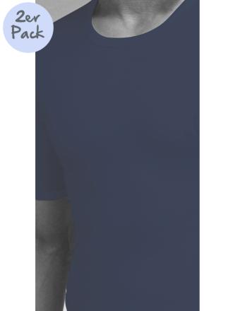 Comazo Lieblingswäsche, Shirt kurzarm für Herren in marine