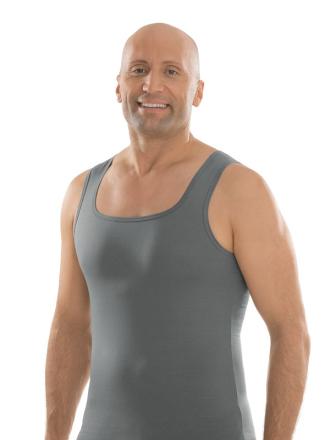 comazo|black Unterwäsche, Shirt ohne Arm, darkgrey - Vorderansicht