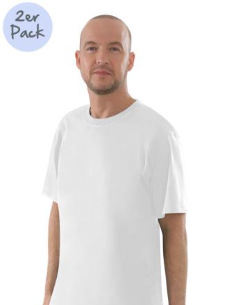 Comazo Lieblingswäsche Herren Shirts Rundhals in weiss