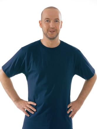 Comazo Unterwäsche, T-Shirt American Style in marine - Vorderansicht