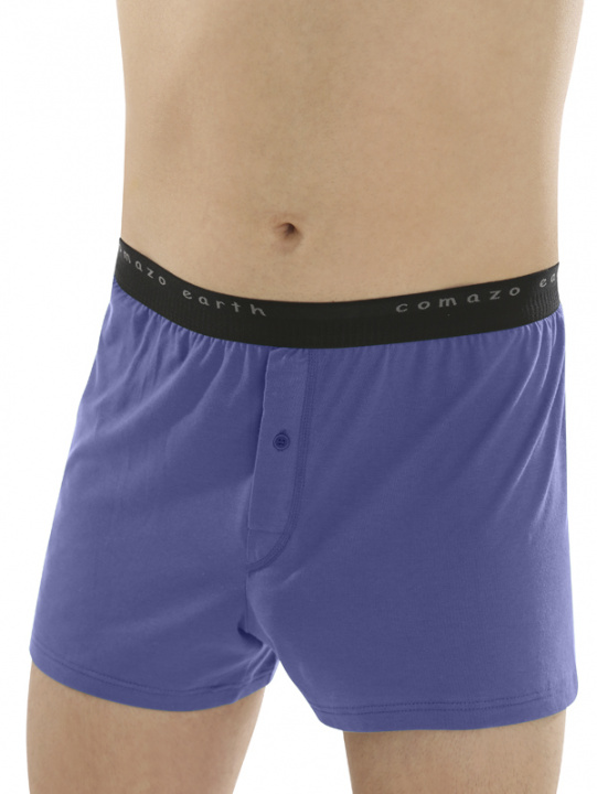 Comazo Biowäsche Fairtrade Boxer-Shorts in ozean