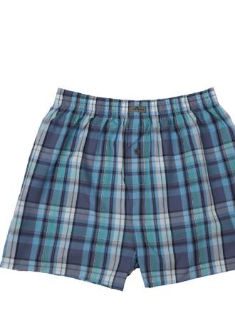 Comazo Unterwäsche, Boxer-Shorts in wasser- Vorderansicht