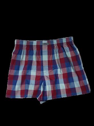 herren Unterwäsche Comazo Lieblingswäsche Boxershorts in blau/rot